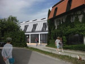 Ideenskizze 'Rathaus + moderner Ausbau' aus August 2014